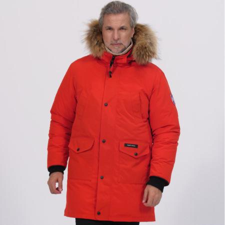 加拿大SaintDyfan95%男士白鹅绒服(经典升级款)·红色