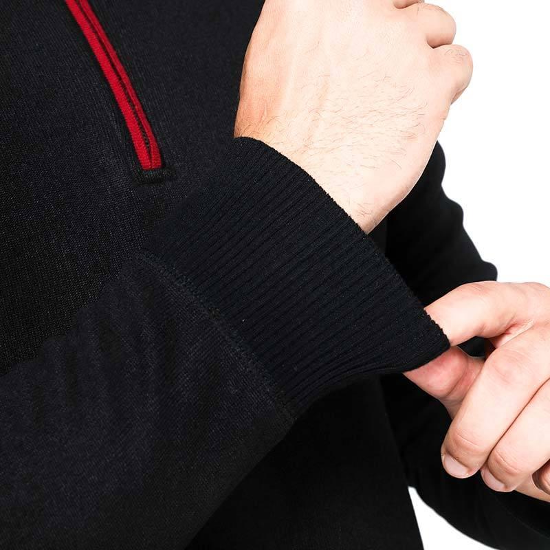 卡帝乐鳄鱼舒适保暖衫·男