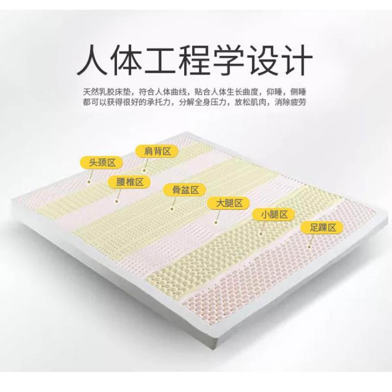KISS DREAM泰国石墨烯7.5cm乳胶床垫1.8米