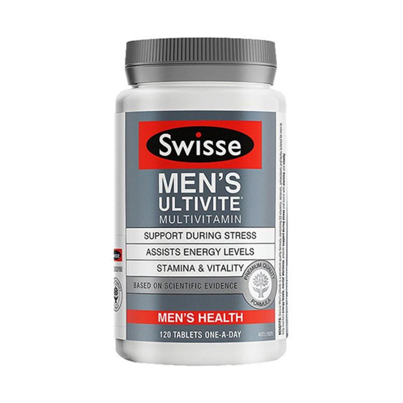 SWISSE 女士复合维生素片120片+男士复合维生素片120片