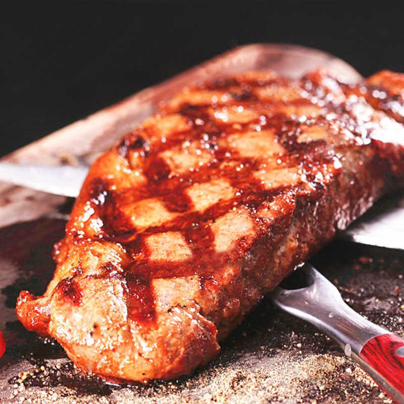 顶诺 牛排家庭组20片(15片黑椒+5片菲力,2150克) 送(煎锅、刀叉、酱包20包)