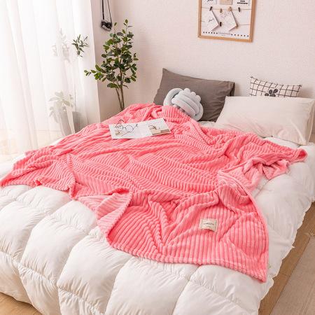 凯特之家牛奶绒毛毯·浪漫粉