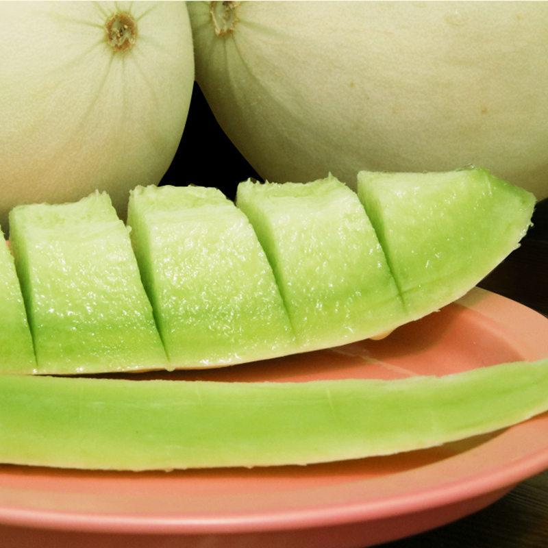 玉菇甜瓜 约重4.5-5.2斤装 2-3个瓜,现摘现发,香甜如蜜,水润多汁