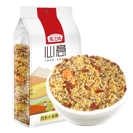 燕之坊四色小米粥1kg*4