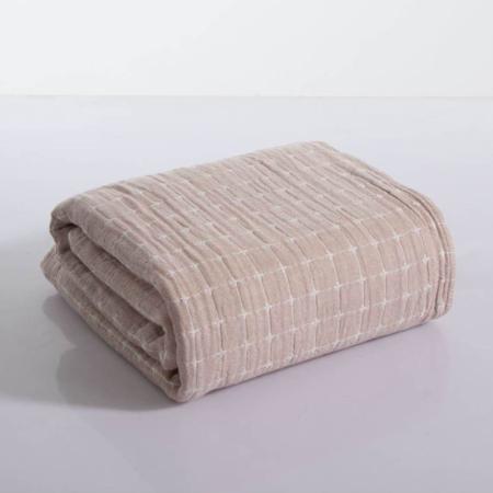 三利夏季全棉纱布盖被空调被·9款可选!精选新疆长绒棉!4层绵柔!透气吸湿!