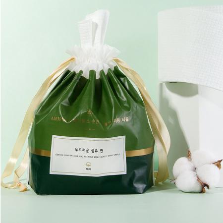韩国尔木萄一次性洗脸巾纯棉加厚洁面6卷-擦脸巾