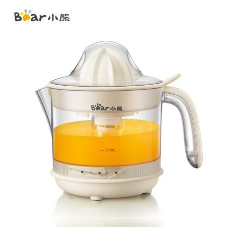 小熊(Bear)橙汁机便携式家用电动榨汁机果汁机柳橙机CZJ-A04B1·黄色