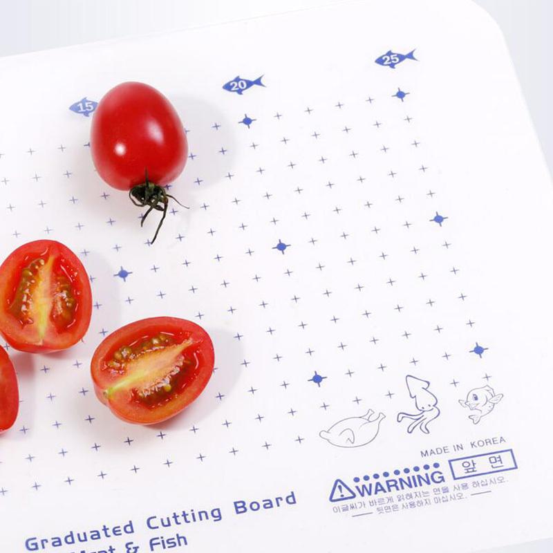 利快·韩国Hanaliving纳米银离子抗菌花色菜板砧板S号·花色