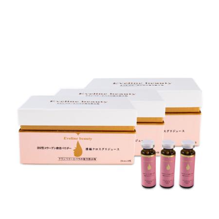 进口Eveline养宫护巢蔓越莓口服液3盒超值组 20ml*10瓶x3