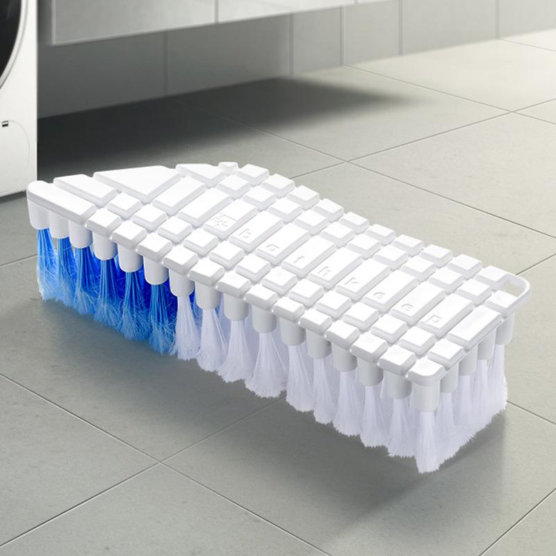 馨友 可弯曲多用清洁洗衣软毛刷*2个装·白色
