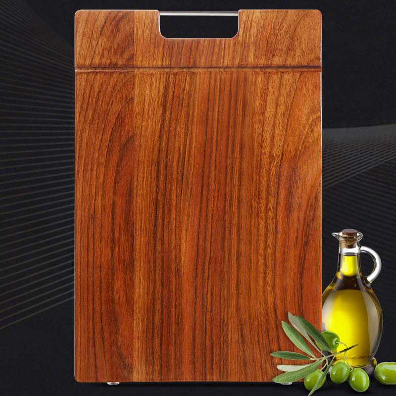 工厂源头直供南美进口花梨木抗菌整木菜板 40*27*2.2cm