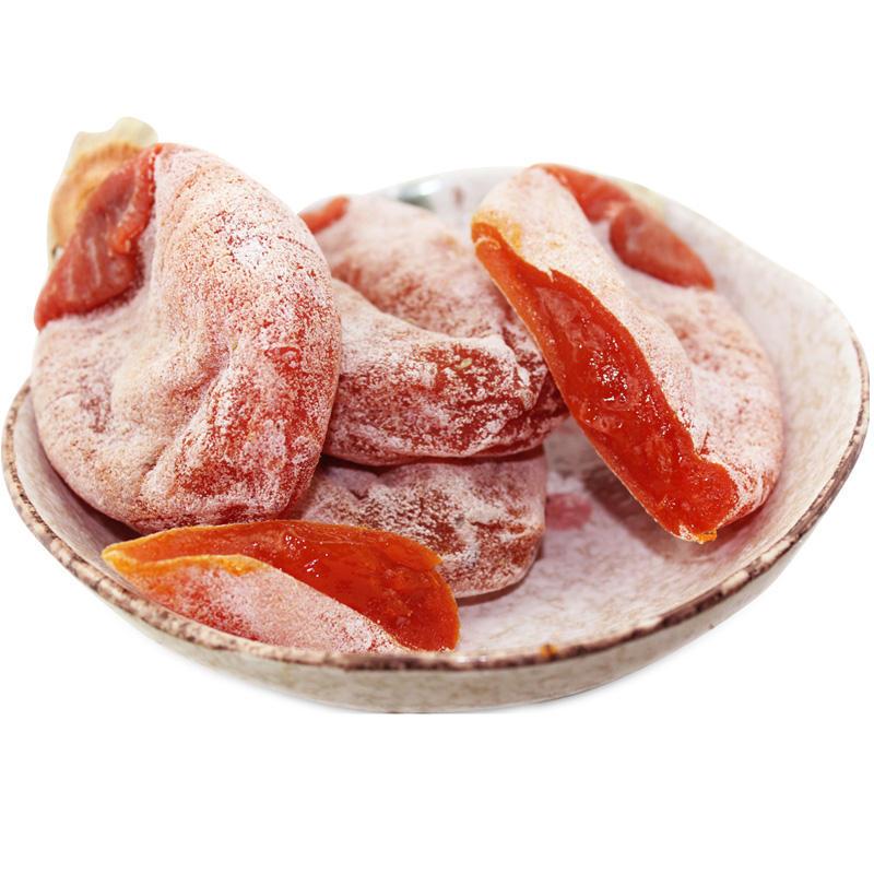 (1月13号停发)富平吊柿饼净重3斤红色礼盒装