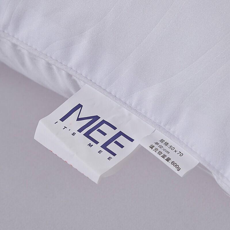 梦洁(MENDALE)家纺柔丝新纤对枕多款可选·丝柔新纤对枕(中枕)