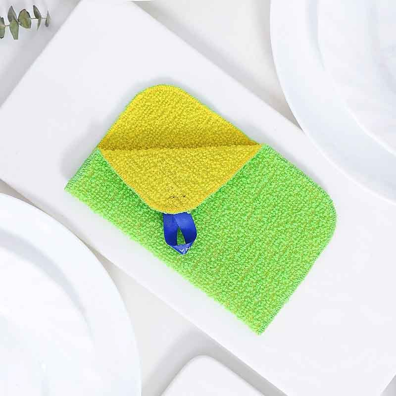 利快·日本marna进口特利洁百洁布套装·百洁布+水滴海绵 同色