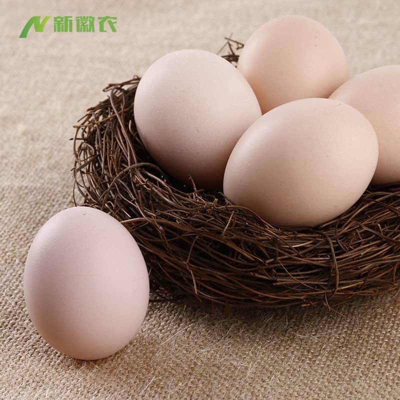 九华山散养土鸡蛋40枚