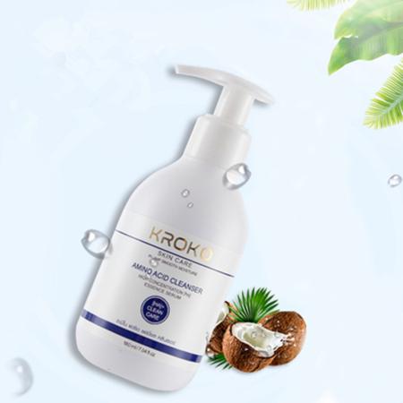 泰国KROKO温和氨基酸卸妆洁面二合一泡沫洗面奶清洁毛孔180ml