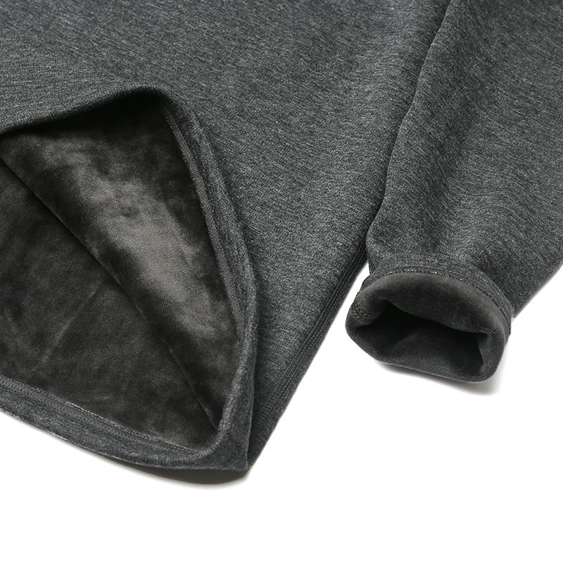 纤丝鸟羊毛男款套装·19310深麻灰  19310深麻灰