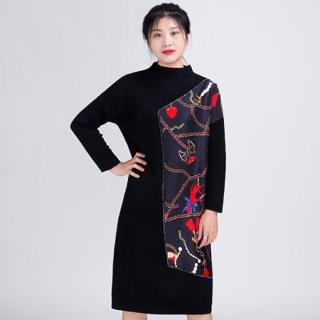 金典娜超奢款连衣裙·红色