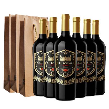欧斯特·艾洛干红葡萄酒750ML/瓶*6瓶