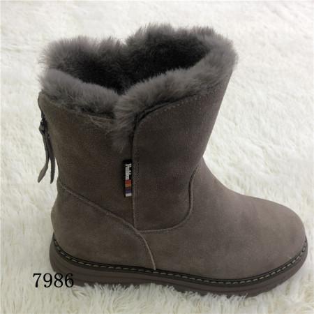 意利都新品靴子·7986·豆沙色