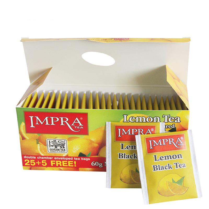 斯里兰卡进口 英伯伦 柠檬味调味 红茶(2g*30袋)60g*4盒