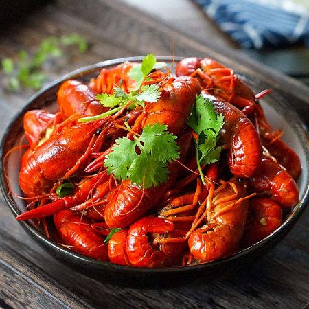 麻辣小龙虾6-8钱 900g*2盒(净虾2斤)多口味顺丰包邮