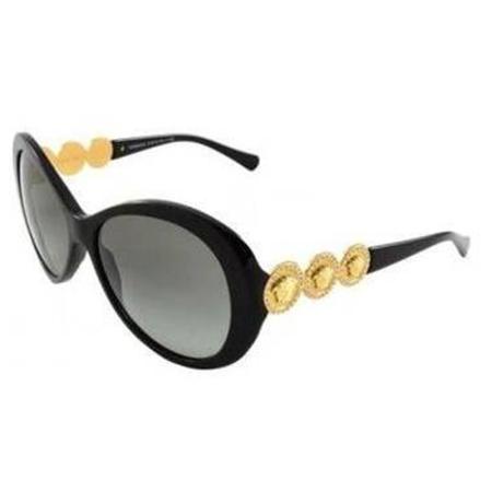 意大利范思哲VERSACE经典美杜莎头像时尚太阳镜·黑色
