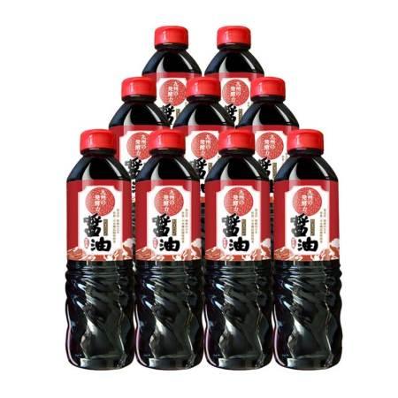 日本进口九州の发酵力特级酿造酱油