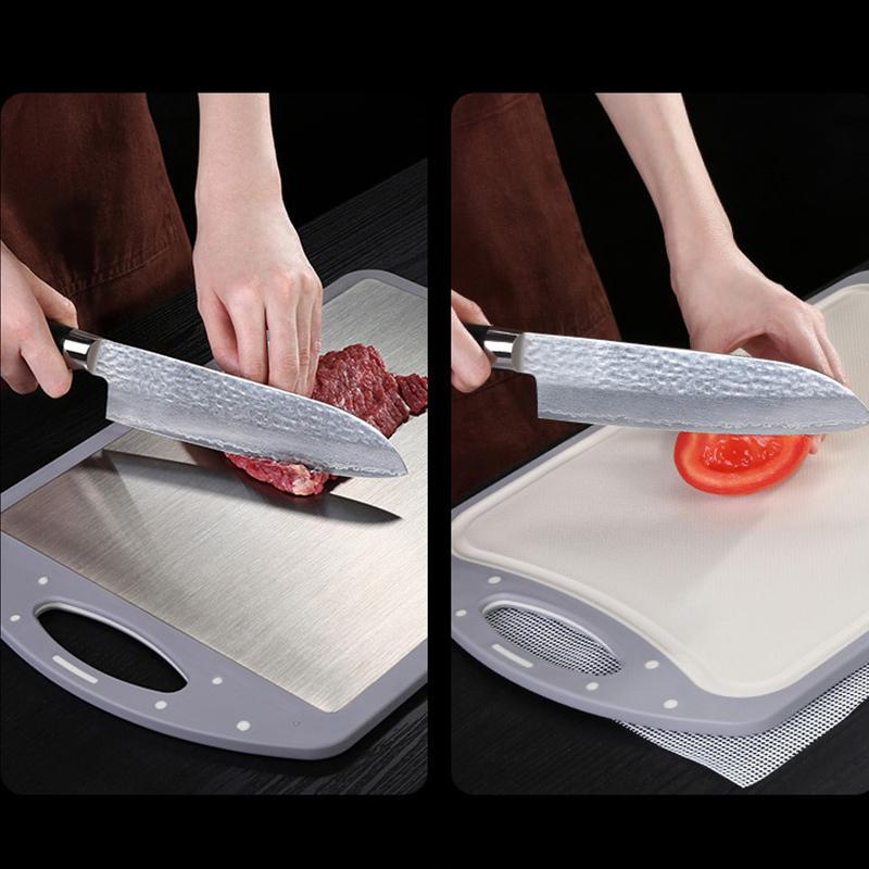 ssgp304双面菜板防霉不锈钢多功能菜板