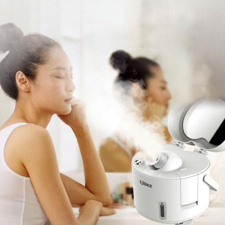 Ulike蒸脸器补水美容仪纳米热喷蒸面机