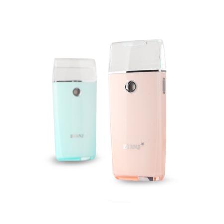 ZUANJ钻技 纳米喷雾补水仪可当充电宝两用·粉色