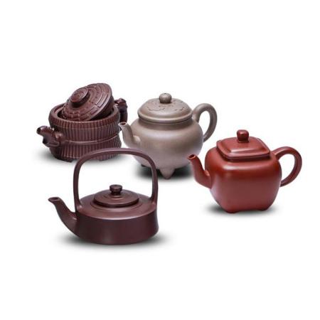 《四氏壶王》紫砂茶具邮票套组