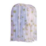 宝优妮 透明衣服防尘罩大号DQ9151-6(5只装)·绿叶花