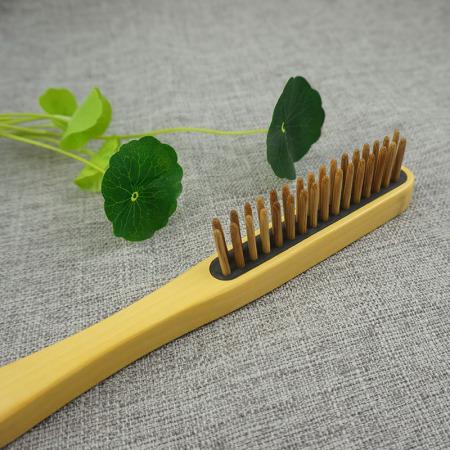 百年许氏  新金檀特色双排插齿梳子