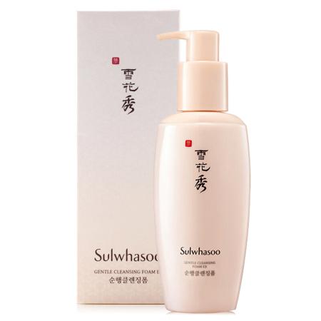 香港直邮 雪花秀Sulwhasoo 顺行柔和系列 洁颜泡沫洗面奶200ml/支