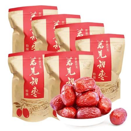 品粒品味 新疆若羌特级甜枣超值组·300克*6袋