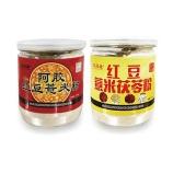 胶苑堂 健康冲饮粉4罐(阿胶红豆薏米粉*2罐+红豆薏米茯苓粉*2罐)