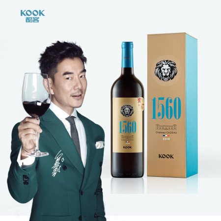 酷客1560干红葡萄酒750ml*2瓶礼盒装