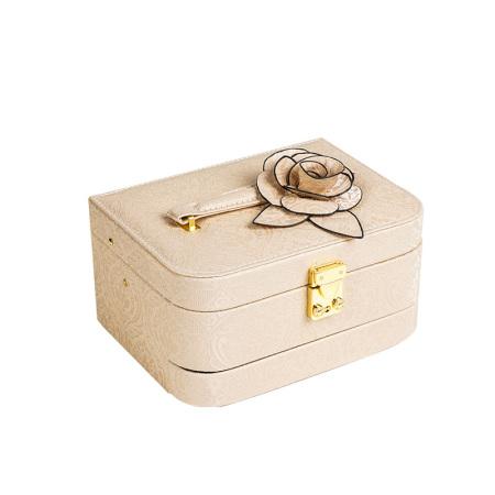 百年许氏 轻奢首饰盒·香槟色