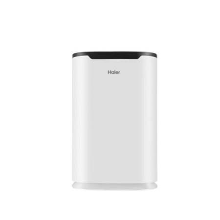 海尔家用静音遥控除菌过滤负离子全自动空气净化器除甲醛/PM2.5·白色