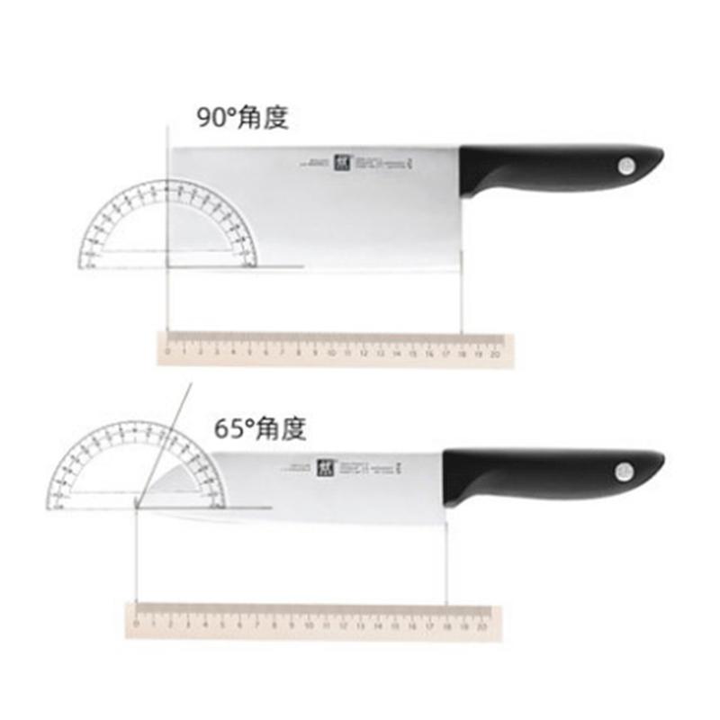 双立人银点刀具两件套·不锈钢色