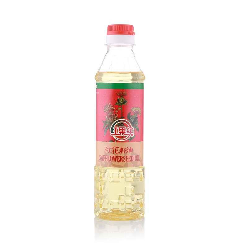 新疆红果实红花籽油400ml*20瓶