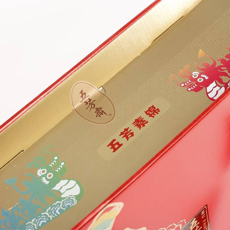 (素粽子)五芳斋素锦粽子礼盒 嘉兴粽子12只1200g