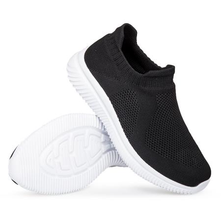 足尔鑫XXY防滑运动鞋20801·黑色