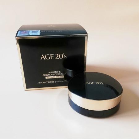 【香港直邮】AGE 20s 爱敬气垫#21象牙白 黑色新款