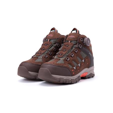 AIRBREATHE高帮保暖BOA扣男靴·棕色