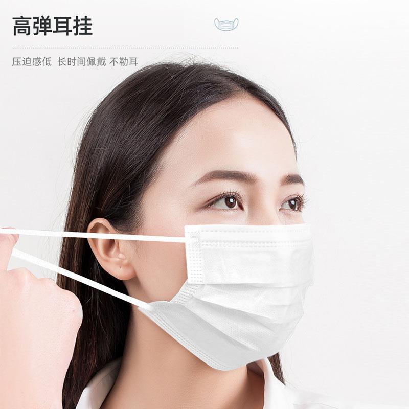 JKKL一次性使用医用口罩50支(褶皱向下是外面)