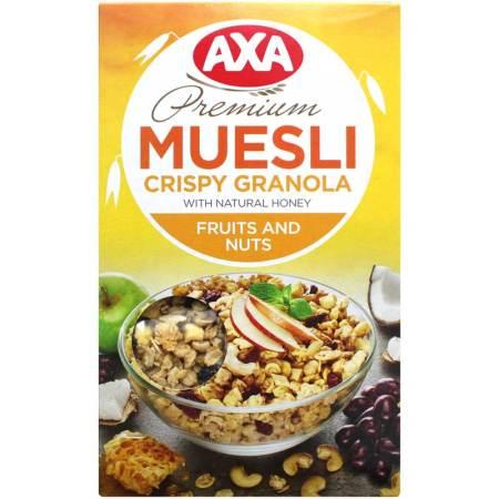 瑞典进口 AXA水果坚果即食什锦麦片MUESLI 250g