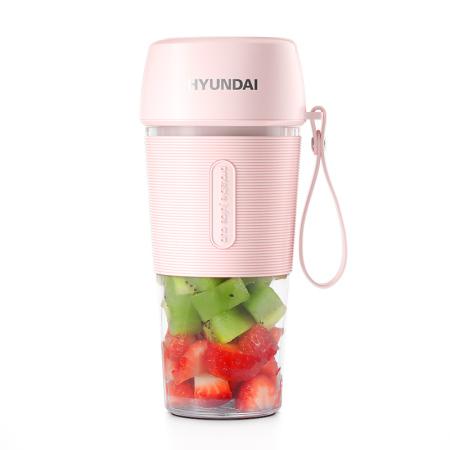 韩国现代 便携榨汁杯QC-2316·粉色