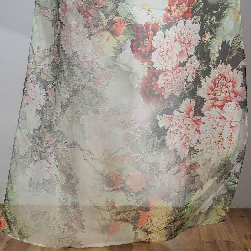 阙兰绢雅致100长款丝巾·女